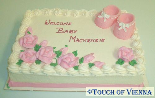 Baby Shower Cakes Victoria Bc